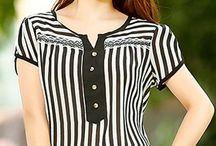 blusas de dama