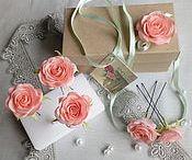 Цветы из фоамирана. Мои работы.