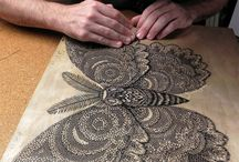 woodcut prints ideas