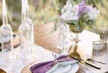 Lavender wedding / esküvő,dekoráció levendulával