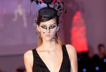 Designer Olga Samarkina @IsadoraDMillinery / Couture harts and flowers special for you