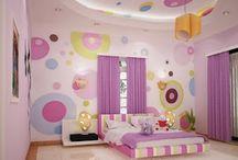 Kids bedroom decor idees
