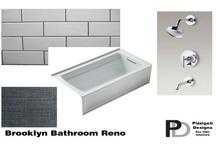 Brooklyn Eco Friendly Bathroom Design / A show stopping bathroom design in Brooklyn!