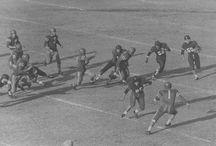 よみがえる名勝負。赤と青の伝説。 / 日本大学vs関西学院大学。日本学生アメリカンフットボール伝統の一戦。
