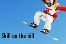 Winter Sports / Learn about winter sports safety for skiing, snowboarding and sledding.
