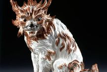 Porcelain animals