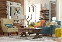 Inspiring Spaces ~ Living Room / Just the right mix of comfort and beauty....it's where you LIVE. Make it great!