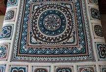 Yatak örtüsü battaniye