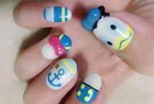 Best Examples of Disney Nail Art Designs / Fingernails2Go are loving Disney inspired nail art. We have created some Alice and Wonderland designs this week using our digital nail art kiosks.