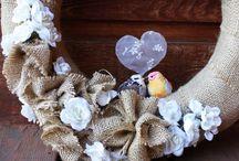 wreaths / by Candye Bisbee