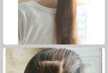 Hairstyles / by Marie Fairchild