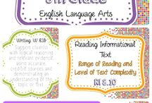 CCSS Posters / Classroom posters with CCSS standards