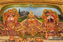 ISKCON Habibpur - Jagannath Baladeva Subhadra / Beatifull Wallpaper of JAgannath Baladeva Subhadra of ISKCON Habibpur maid by ISKCON Desiretree