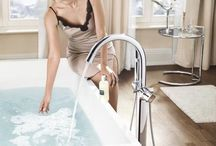 Bathrooms / Soft water means less calcium in the water, and less calcium also means less limescale residues on fixtures and fittings in the form of unsightly deposits. And so silkysoft BWT pearl water ensures a clean, shiny bathroom.
