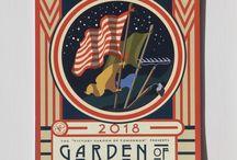 Garden of Democracy 2018 Calendar