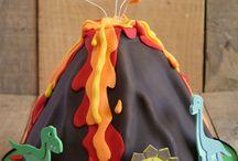 Volcano birthday