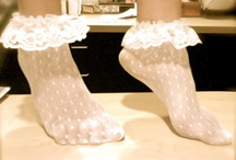 MY SOCK ADDICTION / Nice socks and shoe combos :) particularly of the frilly variety
