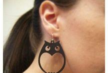 Laser earrings