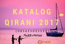 Katalog Qirani Terbaru 2017 / agenqirani.com merupaka produsen busana muslim terlengkap di Indonesia. Pemesanan busana muslim trendy dan syar'i hubungi   Nanda CS 1 Qirani  :  SMS: 0857-3173-0007 Whatsapp: +6285731730007 BBM: 536816F7