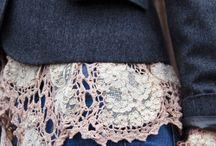 вязание в одежде