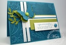 embossing cards (ideas)