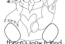 Schneemänner & Co