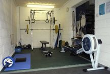 Determined Souls Gym dreams / Dreams of one day making a gym out of home. / by Time2be Healthy