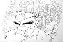 Al Hirschfeld - Caricatures