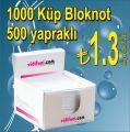 1000 Küp Bloknot