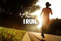 """Run. / """"Ciało nie chce , byś biegł. """" Gdy biegniesz każe Ci przestać , ale umysł musi być silny."""