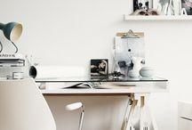 office / interior / desk / office / working / interior
