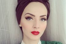 Pin-up makeup