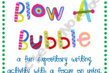 Bubble Activities / Having fun with bubbles!