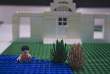 Famous Literature Scenes Done in LEGO / To coincide with the release of The Lego Movie, the UK bookstore Waterstone recreated classic scenes from literature using LEGOs, then invited others to do the same.