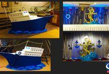 Cruise Ship Theme   Event Decor