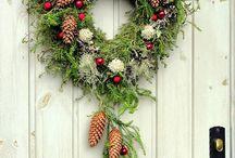 Julekrans og andre juledekorasjoner