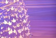 Peace crane art