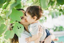 Externas mãe e filho