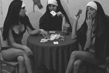 Sexy nuns / by a girl named Nikki