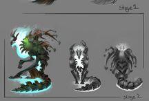 Creature design: forest