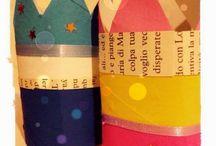 Idea Rotolo di Carta riciclato / Come creare simpatici personaggi da un Rotolo di Carta riciclato
