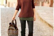 Fashion and clothing.