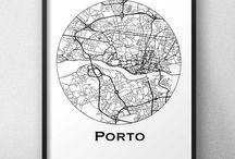 Affiches de ville Portugal