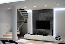 Ambienti / Ambient / Salotti e ambienti interni con pietre ed agglomerati