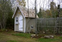 chicken coops / Chickens deserve a fabulous home, as well!