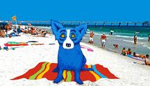Artist - George Rodrigue - Blue Dog / by Alicia Buck