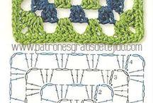 tejido cuadros crochet