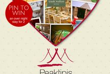 Valentine's Pin to Win Competition / It's here. Time to spread some Valentine's Peaktipis love.  Show us your #PerfectPeaktipiWedding to win an overnight stay for two in the pretty Peak District.   Find out more here: http://www.peaktipis.co.uk/peaktipis-valentines-pinterest-competition  Good luck :)
