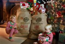 Custom Santa Sack / THE PERFECT GIFT from Santa! Watch your children's eyes light up Christmas morning with our newest creation, the Santa Sack. Customize your Santa with your child's name as well as their The Elf on the Shelf name.