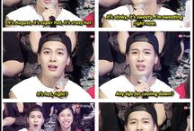 Funny Kpop Pics xD / Pics from Got7, Bigbang,Nu'est and so on